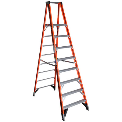 Werner Ladders Aluminium Ladders With Wheels Extension