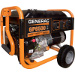 GENERAC 5940 GP6500 6500W PORTABLE GENERATOR, OHVI ENGINE, NEVER FLAT WHEELS AND FOLD DOWN HANDLES