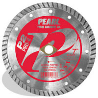 PEARL PV045T 4-1/2X080X7/8 5/8 ADAPTER TURBO 10MM
