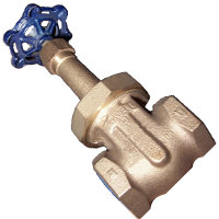 POWELL 2-1/2 GATE VALVE FIG 500
