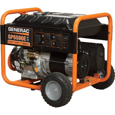 GENERAC 7682 GP6500E ELECTRIC START GENERATOR 6500W REPLACES 5941