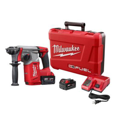 "MILWAUKEE 2712-22 M18 FUEL 1"" SDS PLUS ROTARY HAMMER KIT"