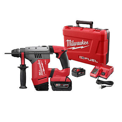 "MILWAUKEE 2715-22 M18 1-1/8"" SDS PLUS ROTARY HAMMER KIT"