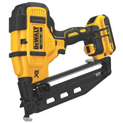DEWALT DCN660D1 20V MAX 16GA ANGLED FINISH NAILER KIT