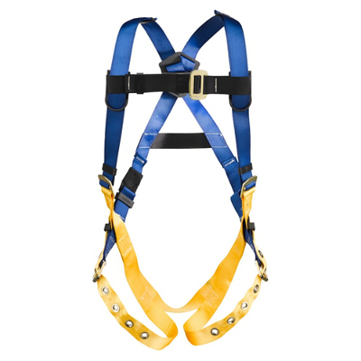 WERNER H312004 LITEFIT STANDARD HARNESS, TONGUE BUCKLE LEGS, BACK D-RING, XL