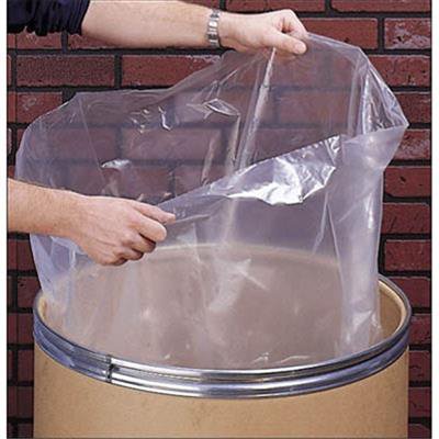 FP337 48X54 4MIL CLEAR TRASH CAN LINERS 50/CS