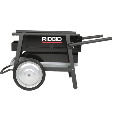 RIDGID 92467 200A UNIVERSAL MACHINE STAND WITH WHEEL AND CABINET
