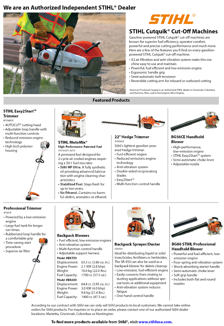 Stihl - The right tool for the job!